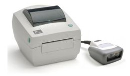 Scan and Print II  Desktop Zebra GC Direct Thermal Labeling System