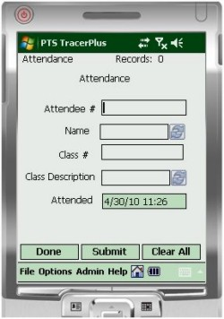 Attendance Track Mobile Kit - Barcode Mobile Applications