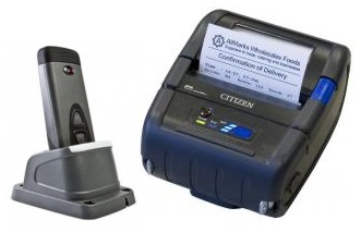 Scan and Print Portable Thermal Printing System