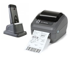 Scan and Print II Standalone Zebra Cordless Thermal Printing System