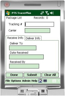 Package Track Mobile Kit - Barcode Mobile Applications